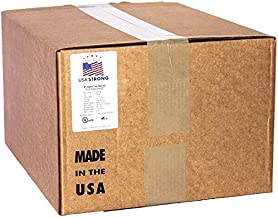 Cable Ties. Standard Duty 7.6 Inch Premium Nylon Wire Management Zip-Ties. 50 LB Tensile Strength. Bulk Wholesale Quantity USA Strong Cable Ties (10,000 Case, Yellow)