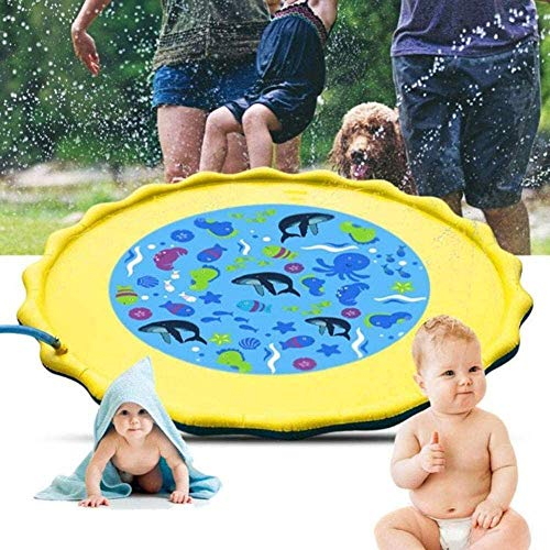 MZY FamilyPool InflatableInflatable Kinderbecken Kinderbecken Family Floating Pool Ocean Kinderbecken für Fit Summer Garden Family Water Games (1