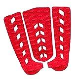 xldiannaojyb 3 UNIDS/Set Anti-Slip Tape Tapet TRACTURY Pad Pad Stomp Pad EXPLESO Accesorios DE Saluda DE Saluda (Color : Red as described)