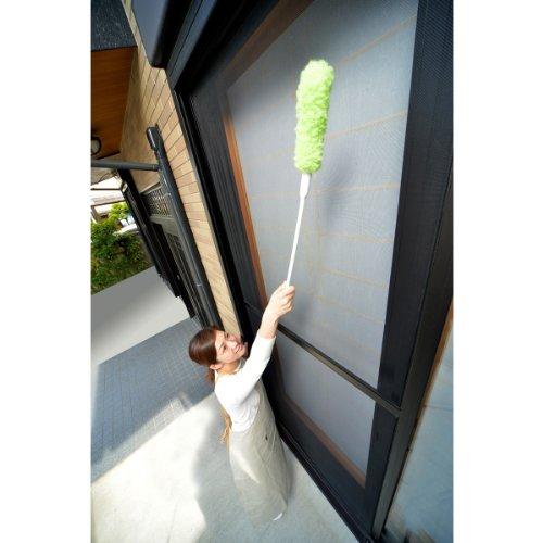 【高いところもラクラク】Seiei取替え式あみ戸びっクリーンロングタイプグリーン17642