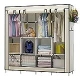 UDEAR Kleiderschrank Einfach aus Stoff Faltschrank Stoffschrank Furniture Bedroom Wardrobes