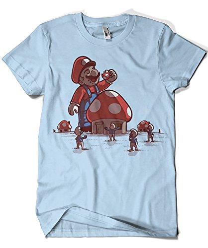1285-Camiseta Mushroom Eater (Naolito)