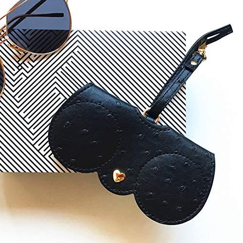 MUY PU Leder Professional Brillenetui Vintage Sonnenbrillen Brillen Display Organizer Aufbewahrungshalter Tasche Brillenbox