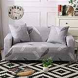 WXQY Juego de Funda de sofá elástica, Funda de sofá Antideslizante Todo Incluido. Sala de Estar Funda de sofá de combinación de Esquina en Forma de L A5 3 plazas