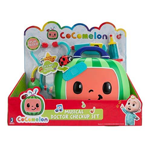 CoComelon CMW0034 Mitsing - Maletín de Doctor con Sonido y Accesorios para niños a Partir de 2 años