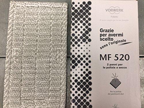 1 Trockenputztuch für Staubsauger MF520 DRY Original Vorwerk Kobold zur Bodenreinigung SP520 SP530