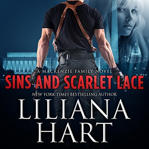 Sins and Scarlet Lace audiobook cover art