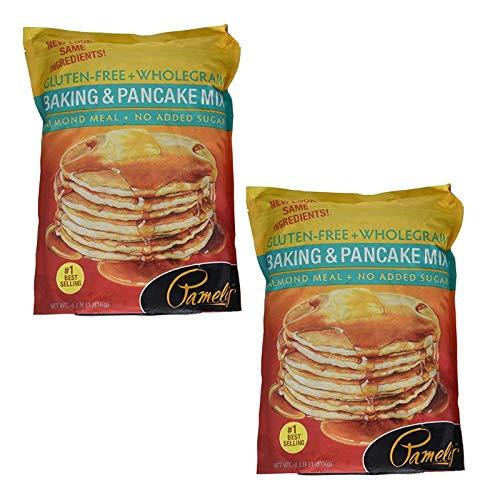 Pamelas Mix Pancake Baking Wf Gf (2 Pack)