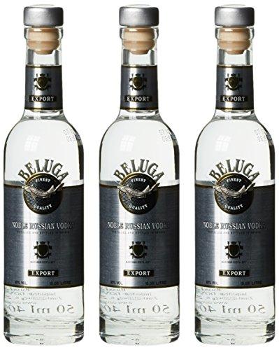 Beluga Russian Vodka (3 x 0.05 l)