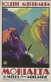The Poster Collective Vintage South Australia morialta