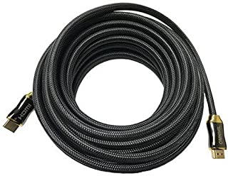 """Omnihil 30 Feet HDMI Cable Compatible with Eyoyo 17"""" Inch 1280x1024 TFT LCD CCTV HDMI HD Monitor"""