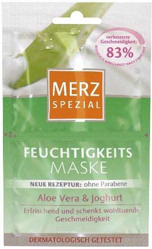 Merz Spezial Feuchtigkeits Maske Aloe Vera & Joghurt, 15er Pack für 30 Anwendungen