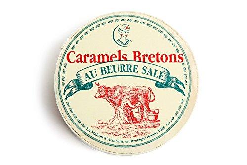 La Maison d\'Armorine Caramels au beurre salé / Karamellbonbons mit gesalzener Butter 50 gr.