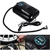 Shoze Car Pump Tyre Inflator Air Compressor with Digital Pressure Gauge 250 PSI
