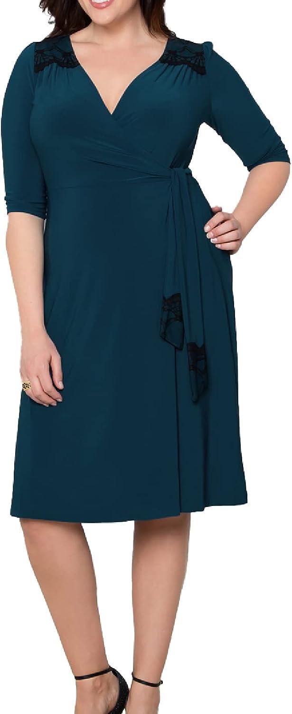 Kiyonna Julieanne Wrap Dress