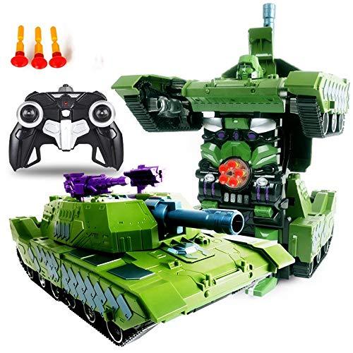 Fantastic Deal! Woote RC Deformation Vehicle Birthday Present One Button Deformed Autobot Remote Def...