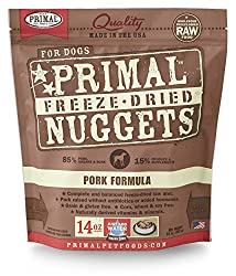 Primal Freeze-Dried Nuggets Pork Formula for Dogs