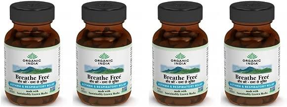 (4 PACK) - Organic India - Breathe Free | 60's | 4 PACK BUNDLE …