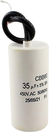 Aexit Condensateur de moteur cylindrique non polaris/é CBB6-5 /à CA 450V 35uF pour la climatisation HS709250Q542867O