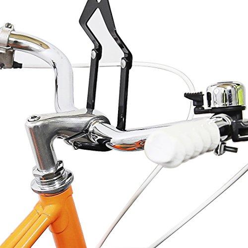 Relaxdays Fahrradaufhängung, Fahrradlift, bis 20 kg, Fahrrad Deckenhalter, mit Seilzug, für Garage und Keller, schwarz - 3
