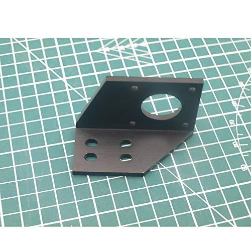 1 stücke aluminium Y motor halterung für AM8 / Anet 3D drucker metall Y schrittmotor halterung 2040 v-slot