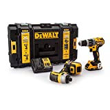 <span class='highlight'>Dewalt</span> DCK266D2-<span class='highlight'>GB</span> DCK266D2 <span class='highlight'>Combi</span> <span class='highlight'>Drill</span> <span class='highlight'>and</span> <span class='highlight'>Impact</span> Driver <span class='highlight'>XR</span> 18V Brushless Kit, 18 V