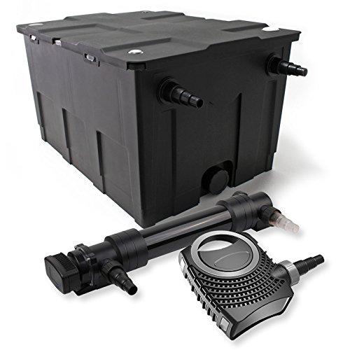 SunSun 1-Kammer Filter Set 60000l 36W UVC 6er Teich Klärer NEO8000 70W Pumpe