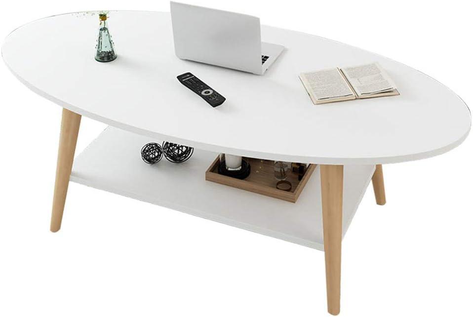 Z Coffee Table Mena Uk Bedroom Study Round Solid Wood Side Table Double Storage Plate Combination Creative Coffee Table Amazon De Kuche Haushalt