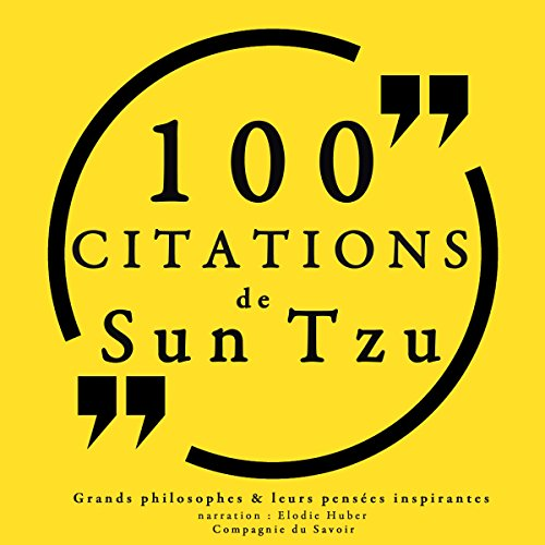 Couverture de 100 citations de Sun Tzu
