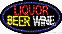 Liquor Beer Wine Flashing &アニメーションReal LEDサイン