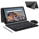 Tablet 8 Pulgadas con WiFi 3GB de RAM 32GB/128GB de ROM Android 10.0 Certificado por Google GMS 1.6Ghz Quad Core Tablet PC Baratas y Buenas Batería 5000mAh Tableta Netflix Bluetooth OTG(Negro)