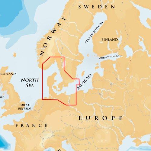 Navionics - Platinum+ - 15P+ Oslo to Germany, µSD-Karte