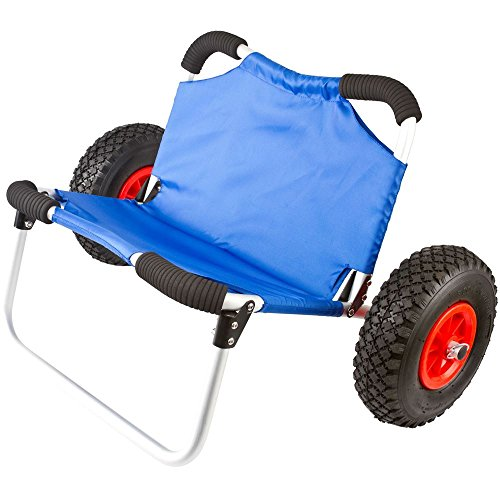 Apex KC-Dolly-SEAT Personal Watercraft Dolly (Kayak/Canoe Cart & Chair)