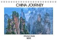China Journey (Tischkalender 2022 DIN A5 quer): Eine fotografische Reise durch China mit den schoensten Eindruecken dieser Republik. (Monatskalender, 14 Seiten )