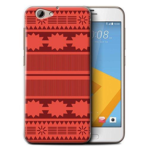 Stuff4® Hülle/Case für HTC One A9s / Aztek/Prinzessin Kleid Muster/Karikatur Polynesische Prinzessin Kollektion