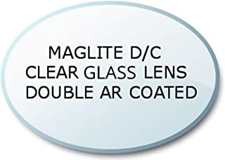 Maglite Flashlight D/C Cell Lens Ultra Crystal Clear Glass AR Coated Upgrade, UpLED