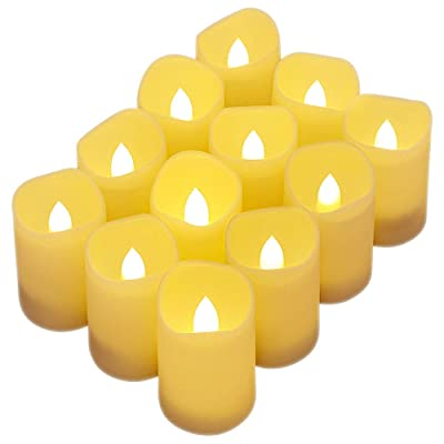 Tker Flameless Candles, Battery Operated Candle...