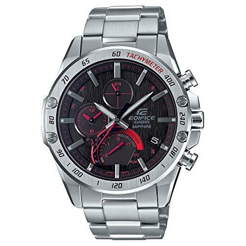 Reloj Casio Edifice Super Slim Acero Inoxidable Cronógrafo Smartphone Link EQB1000XD-1A