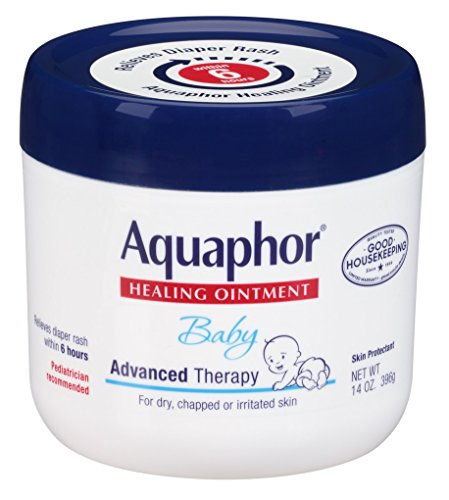 Aquaphor Baby Healing Ointment Advanced Therapy 14 Ounce Jar (414ml) (3 Pack)