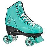 Candi GRL Sabina - Colorful Freestyle Roller Skates -Mint/Black Mint/Black Size 08
