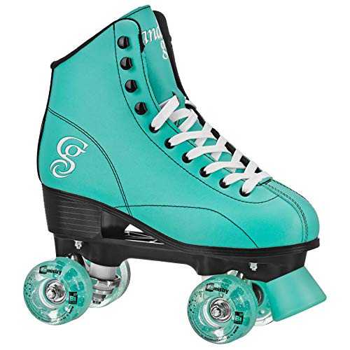 Candi GRL Sabina - Colorful Freestyle Roller Skates -Mint/Black Mint/Black Size 10