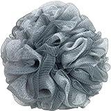 Esponja exfoliante para el cuerpo, gris con blanco, 95 gramos, una
