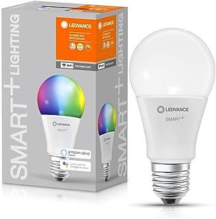 LEDVANCE Lampa LED   Trzonek: E27   RGBW   2700…6500 K   9 W   SMART+ WiFi Classic Multicolour [Klasa efektywności energet...
