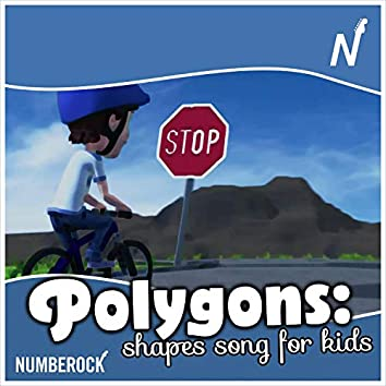 Polygons: Shapes Song for Kids