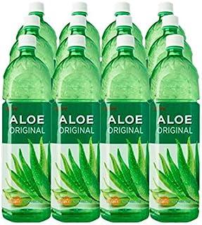 LOTTE Juice Drink Case, Aloe Vera, 12 x 1.2L