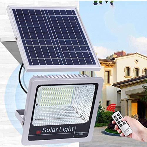 THj 40W 60W 80W 100W 120W Luces de inundación solares Control Remoto al Aire Libre Luces LED de energía Solar IP65 Lámpara de Pared Solar a Prueba de Agua Reflectores