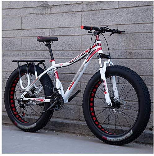 aipipl Fat Tire Bike Bicicleta para Adultos Bicicleta de Playa para Motos de Nieve Bicicletas para Hombres Mujeres Bicicleta Todoterreno