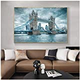 ZXYFBH Poster Bilder Tower Bridge London Landschaft