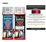 Kit Spray Pintura Coche Aerosol R508P MONZA RED PRL. MET. - Kit de retoque de pintura carrocería en spray 400 ml producido por VerniciSpray