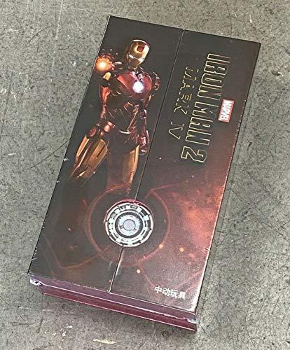 "FigLot ZD Toys Iron Man Mark 4 Mark IV 7"" Action Figure"